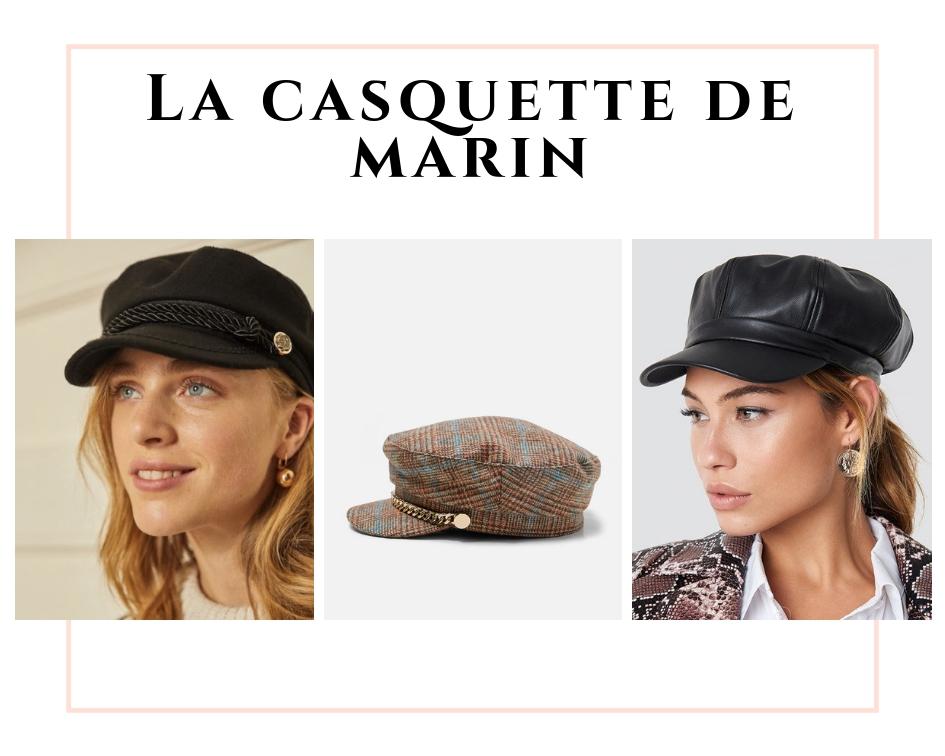 la casquette de marin
