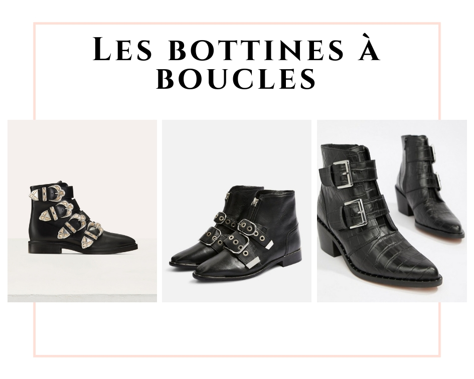 Les bottines à boucles