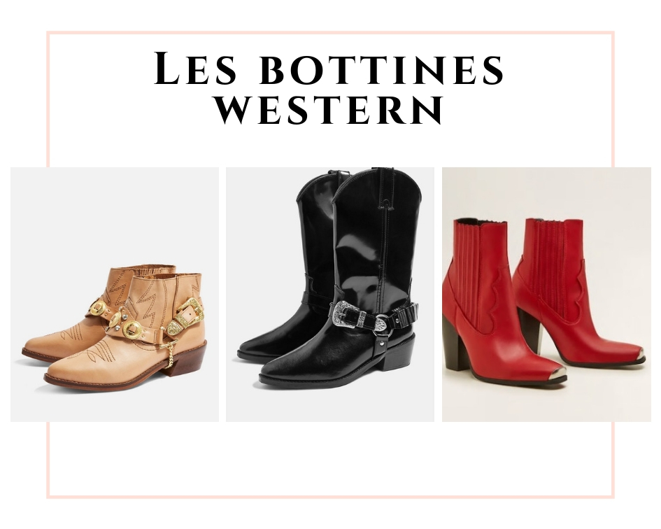 les bottines western