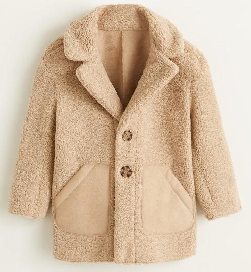 manteau long beige petite