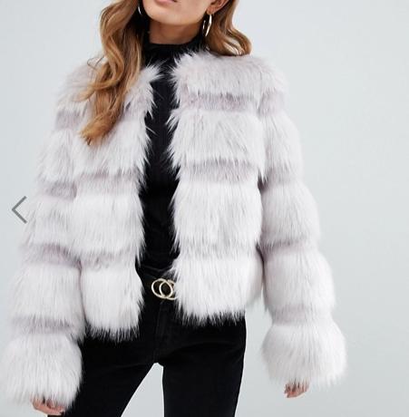 veste fourrure petite