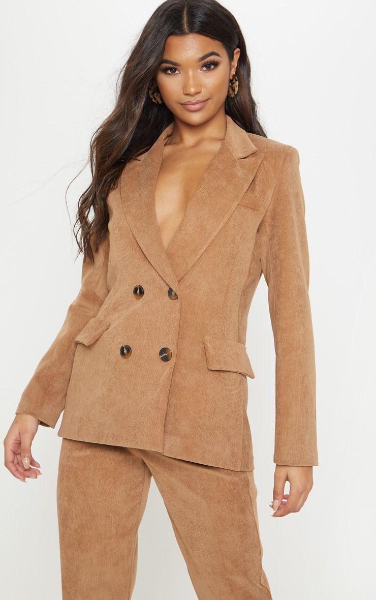 veste tailleurs velours marron