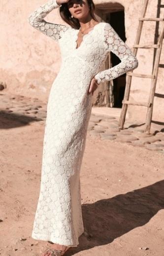 robe longue 18
