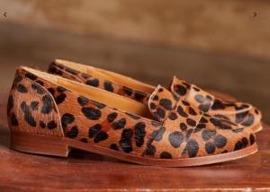 sezane mocassins leopard 2